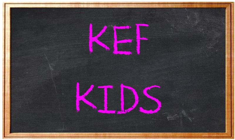 Kef Kids online registration